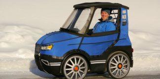 PodRide é a bicicleta que parece um mini carro