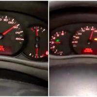 Motorista experimenta reduzir da 6ª marcha para 2ª a 150 km/h