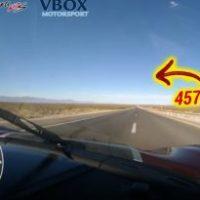 Koenigsegg Agera RS é agora o carro mais rápido do mundo (457km/h)