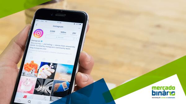 novo perfil para empresas no instagram