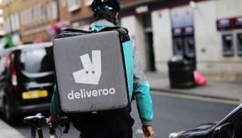 investimento da Amazon na Deliveroo