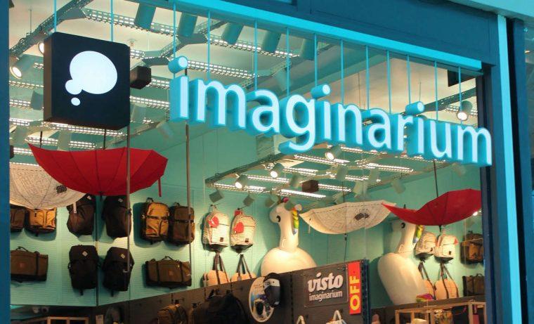 Loja da Imaginarium, uma das marcas do Grupo Uni.co