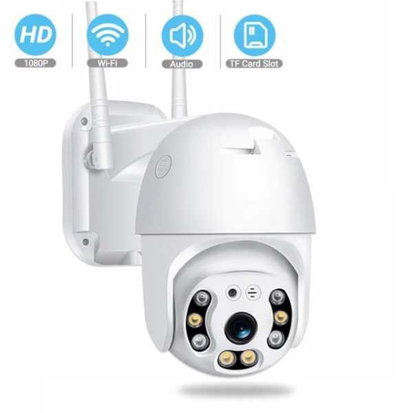 Cámara Mini PTZ IP Wifi 2MP 1080p