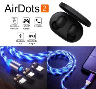 airdots 2 cable magnetico