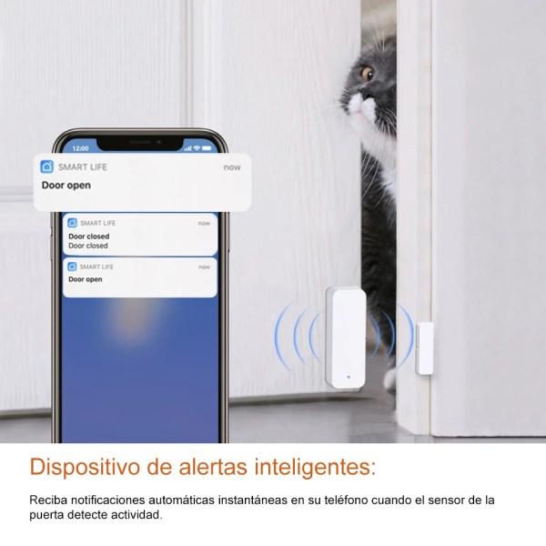 Sensor de Puerta Wifi 04