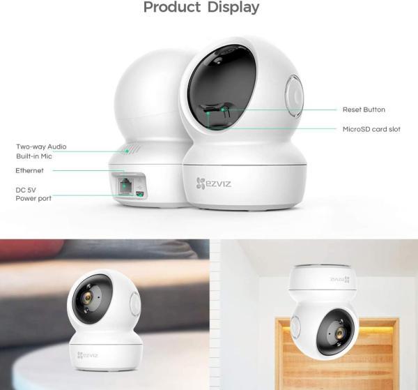 Cámara inteligente Ezviz Wifi C6N