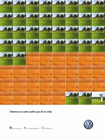 Deportes - campaña de VW Argentina