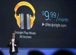 Google - música por suscripción 188