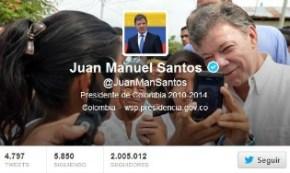 Juan Manuel Santos - Colombia - Twitter 188