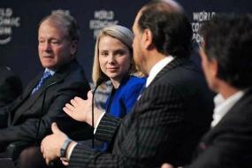 M Mayer - Yahoo - Davos -