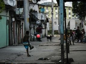 Los niños de las favelas