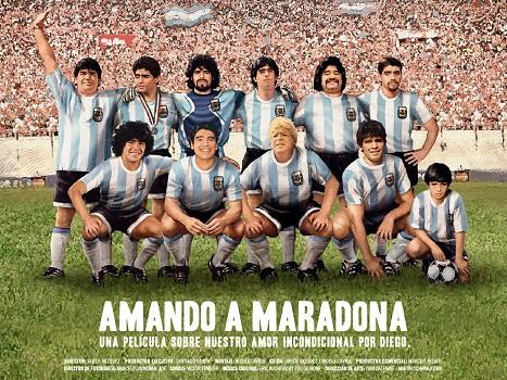 Amando a Maradona Film Poster