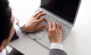 ejecutivo en internet