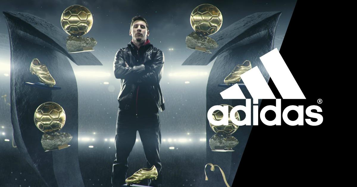 """El poder de una marca – Adidas a Messi: """"¡Vámonos!"""""""