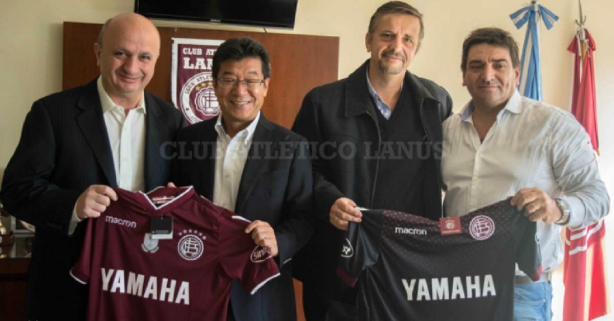 Argentina – Club Atlético Lanús renueva patrocinio con Yamaha Motor