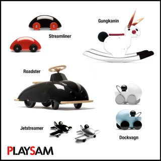 Giochi in legno dal design scandinavo: Playsam