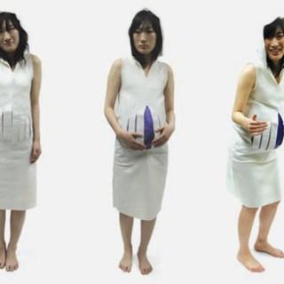 Vestiti premaman espandibili ed un progetto etico