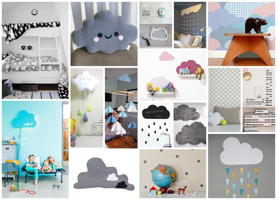 Nuvole in cameretta 18 idee fai da te e non - Idee camerette neonato ...