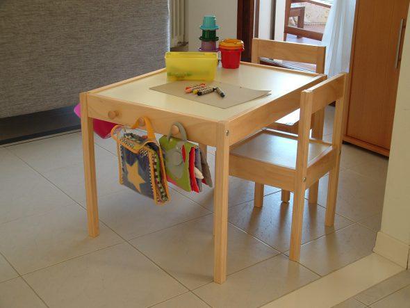 9 ikea hack di tavoli per bambini mercatino dei piccoli - Tavolino per bambini ikea ...