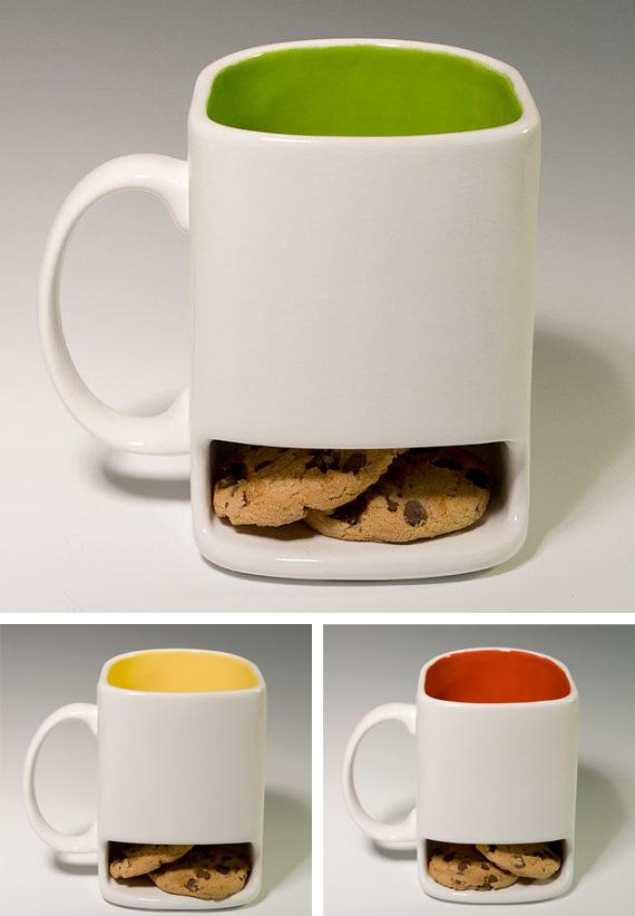 mug cookies ceramic