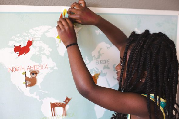 Our Earth, mappa gioco interattiva