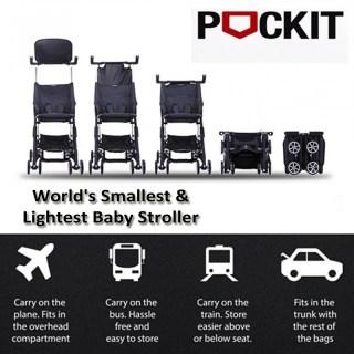 Il passeggino che si ripiega più piccolo al mondo GB Pockit Stroller