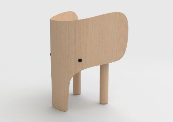 sedia elefante Marc Venot Design