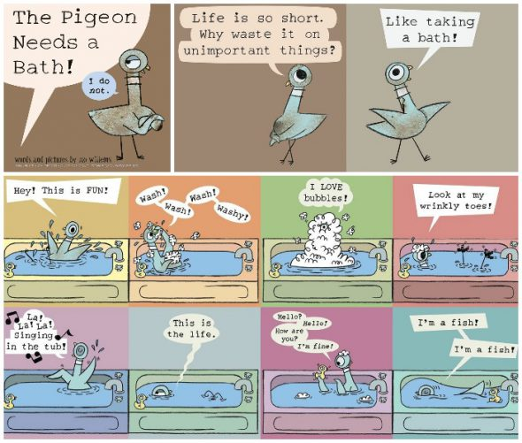 pigeon-bath book
