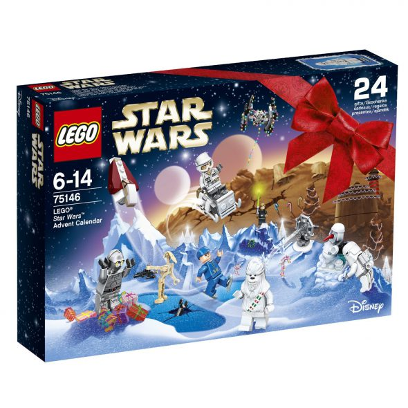 calendario avvento lego star wars