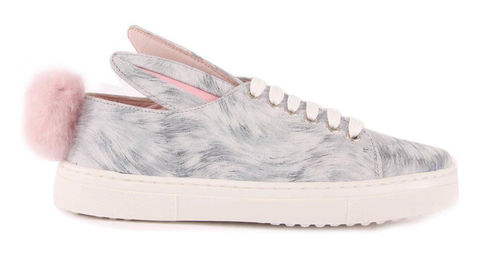 sneakers-lacci-pelle-pompom-coniglio