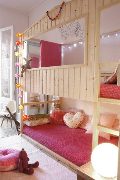 Letti A Castello Ikea Per Bambini.20 Idee Per Trasformare Il Letto Kura Di Ikea Mercatino Dei Piccoli
