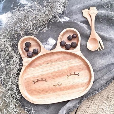 piatto legno coniglietto