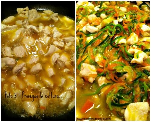 Liberiamo una ricetta- dadini di pollo con verdure