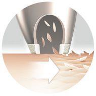 VisaCare esfoliazione