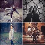 Passeggiando per Roma con mia figlia