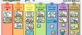 My Week: Il calendario magnetico