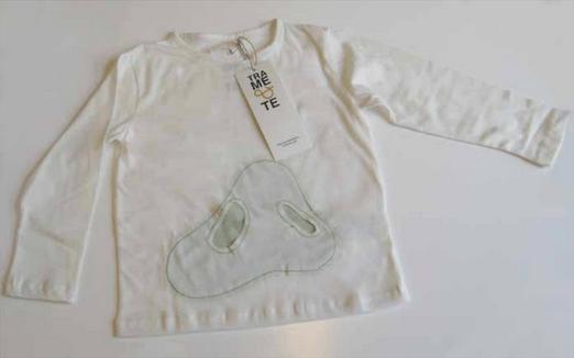 TRAME&TE maglietta con tasche verde