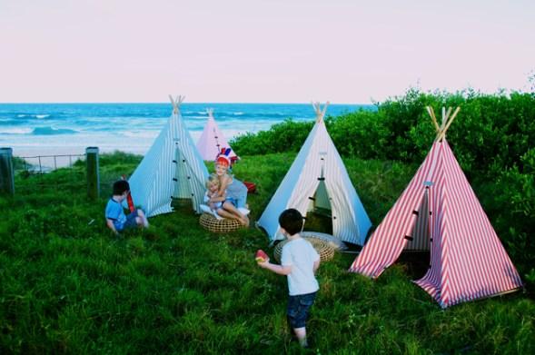 tepee tenda gioco giardino