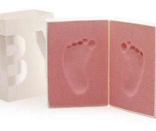 3 idee in kit per conservare le impronte di manine e piedini