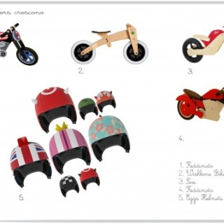 Piccoli balance bikers crescono