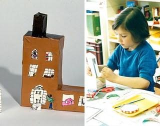 Piccoli architetti crescono: casette in carta fai da te