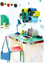 Colorful kids room (insket) via Rafa-kids blog