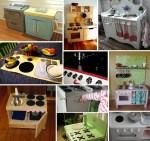 10 cucine giocattolo fai da te