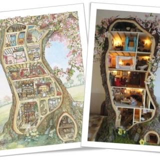 L'incredibile casa delle bambole…nell'albero!