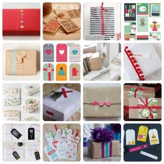 10+6 Ispirazioni per decorare pacchetti e pacchettini e qualche biglietto da stampare