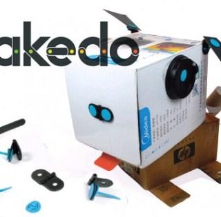 makedo gioco cartone riciclo