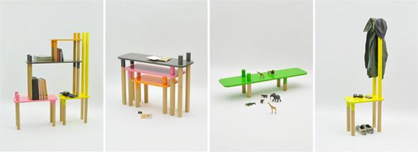 Tavoli sgabelli sedie e gli animali della giungla for Sgabelli colorati