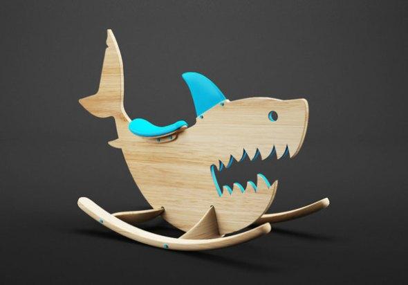 monster_ride_02 shark squalo cavalcabile
