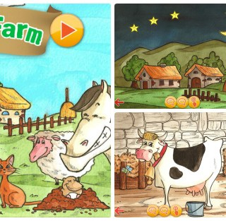 my happy farm , app per bambini