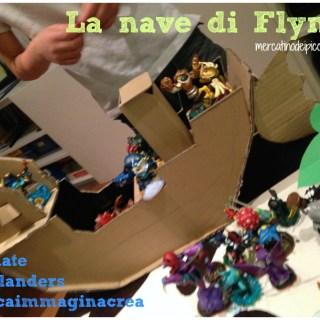 Dal cartone alla nave di Flynn #Skylanders